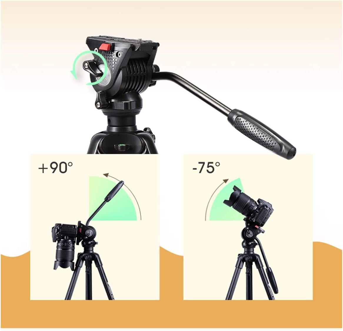 with Carrying Case Multi-Style Optional Size : Tripod B Outdoor Travel Photography Video Tripod CJGXJZJ Camera Tripod Suitable for SLR Mobile Phone Micro Single Light Aluminum Camera Stand
