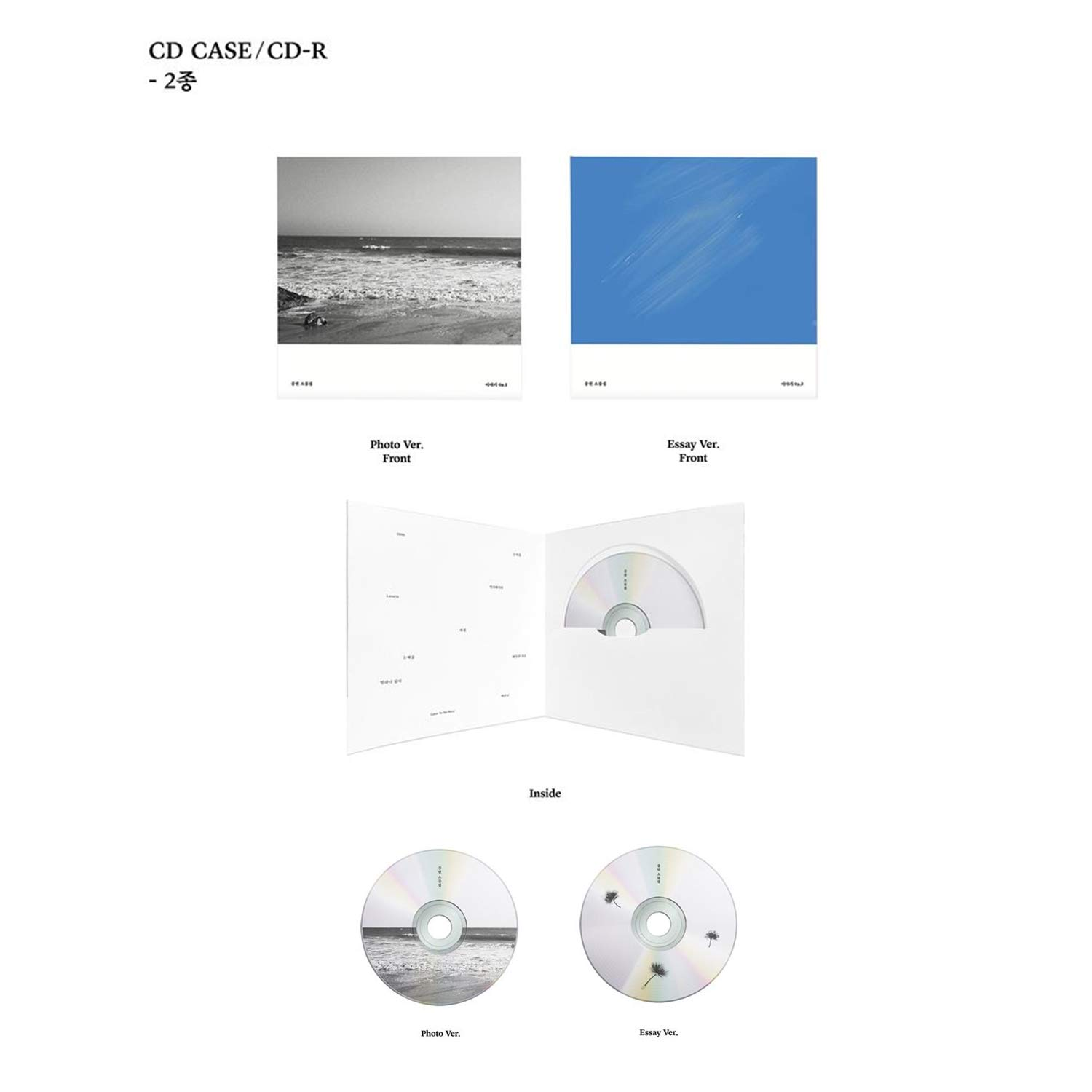 story OP.2 Essay /& Photo ver JONGHYUN CD+Booklet+Poster NEW Sealed SHINee