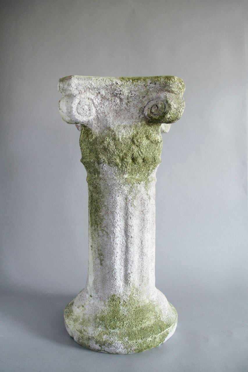 Pompeii Pedestal 21.5''H