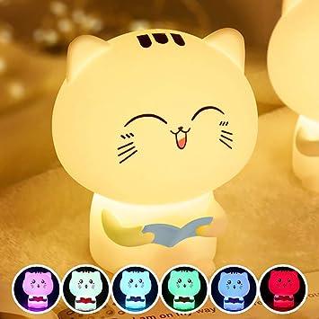 Amazon.com: Wanzi2 lindas luces de gato orgánicas de ...