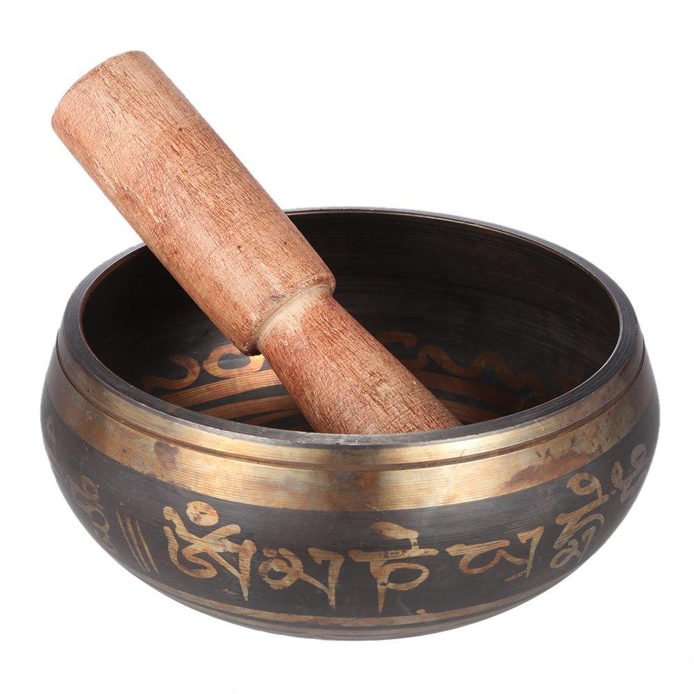 Tibetano de la Campana Metal Tazón de Cantar Exquisito