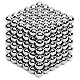 5MM 216 Pieces Magnets Sculpture Building Blocks Toys for Intelligence Learning - Office Toy & Stress Relief for Adults