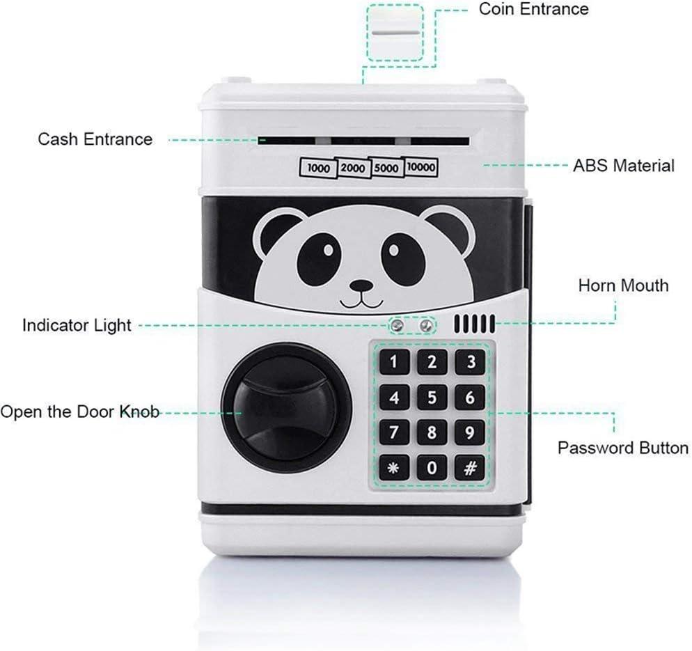 18qq HBKOLEP Piggy piggy bank cartoon piggy bank plastic decoration ATM piggy bank novelty childrens toys