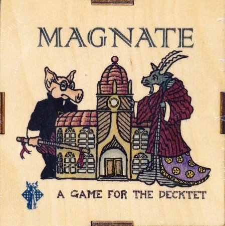 Magnate Board Game by Blau Panther