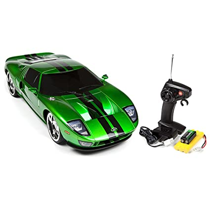 Licensed Green Ford Gt Electric Rtr Remote Control Rc Car Xq