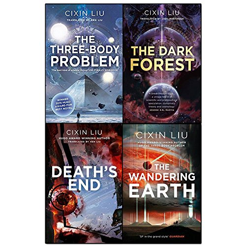 Cixin Liu Three Body Problem Collection 4 Books Set