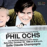 Buy PHIL OCHS – Live In Montreal, 10/22/66 New or Used via Amazon
