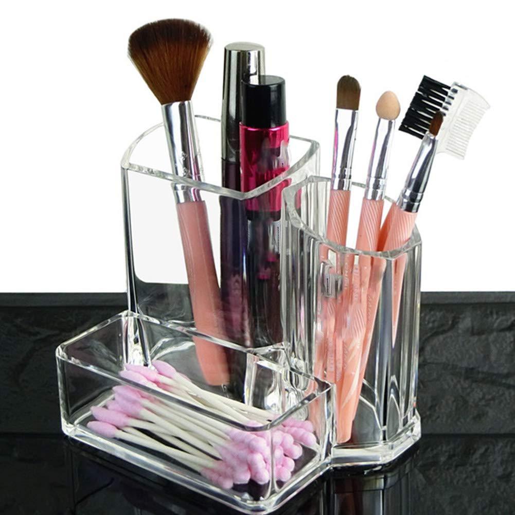 make-up organizzatori espositore di stoccaggio in acrilico pennello da trucco porta accessori