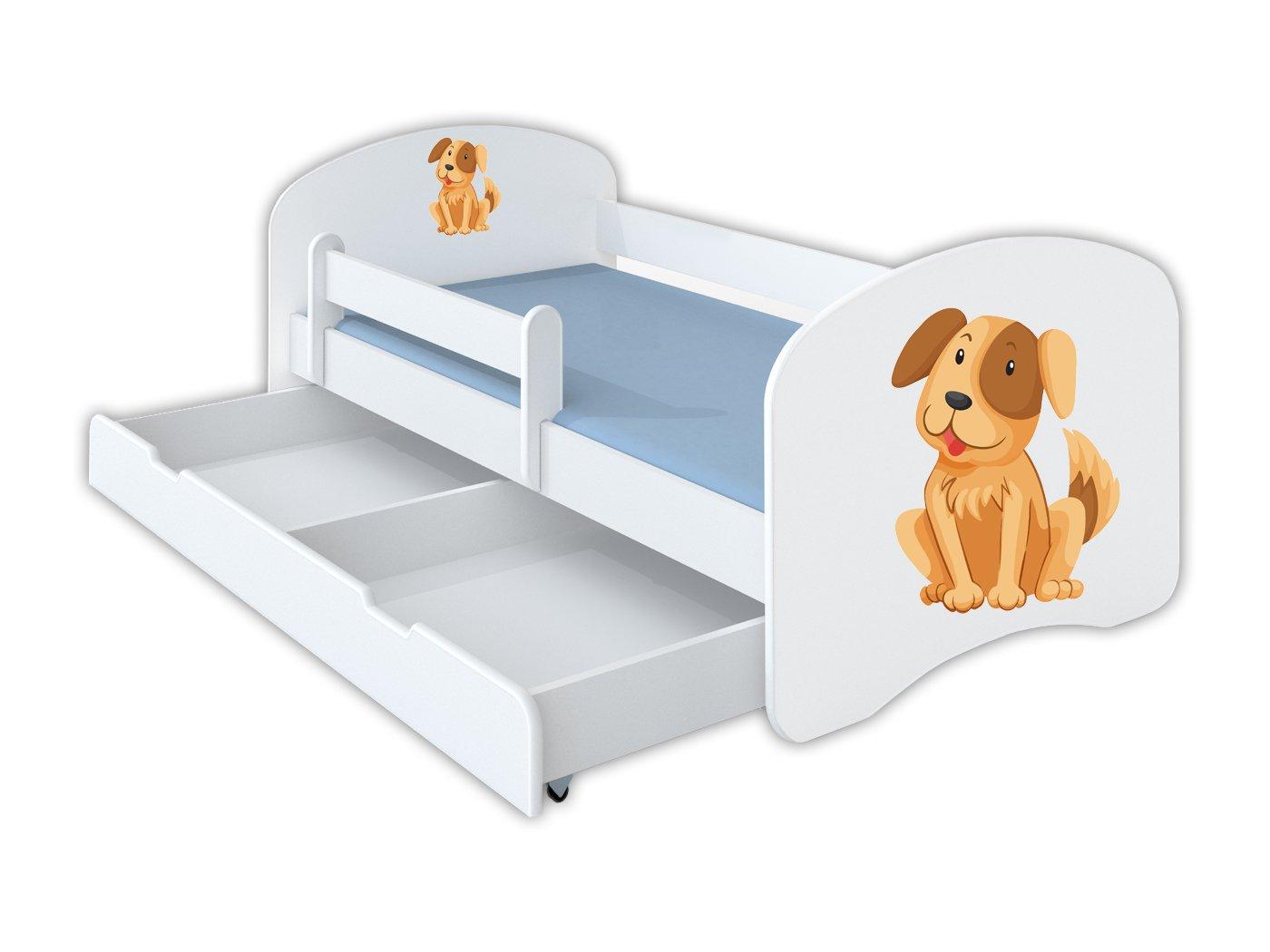 Clamaro Und Schlummerland 160 X 80 Kinderbett Mit Rausfallschutz