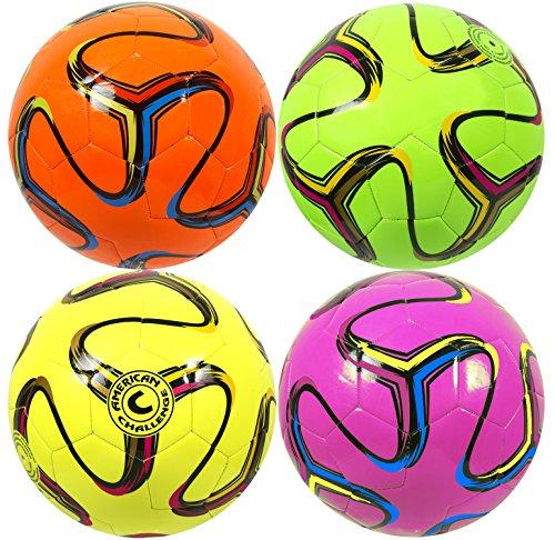 American Challenge Brasilia Soccer Ball (Raspberry, 3) - Baseball Field Lining