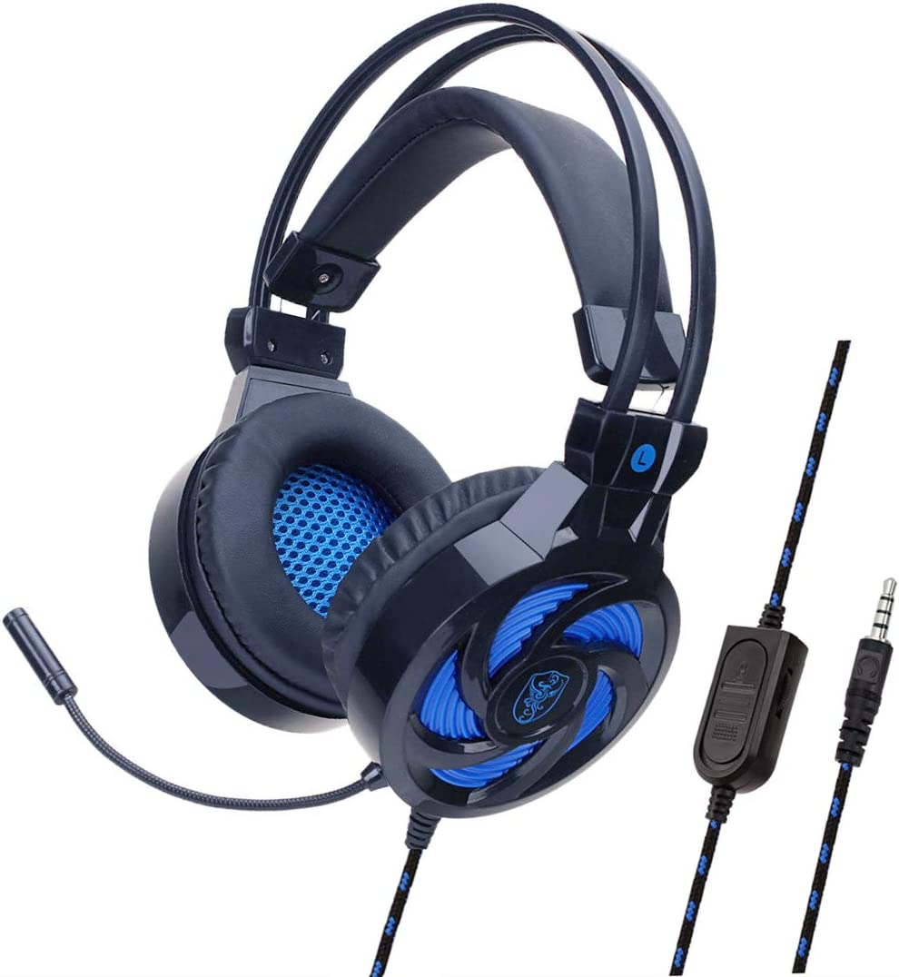 YOUPECK - Auriculares con micrófono para PS4, Xbox One, Nintendo ...