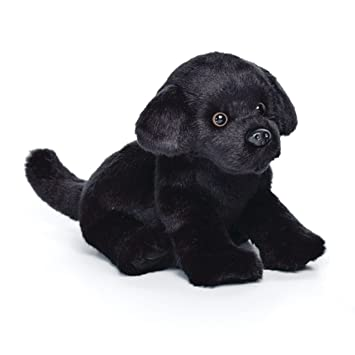 c6742003450c Image Unavailable. Image not available for. Color: Nat and Jules Sitting  Small Black Labrador Dog Children's Plush Stuffed Animal Toy