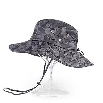 Sunny Sombrero para El Sol Temporada De Verano Hombre Poliéster Aire Libre  Protección Solar Sombrero ( 607d62726ce