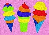 Lauri Crepe Rubber Puzzles - Ice Cream