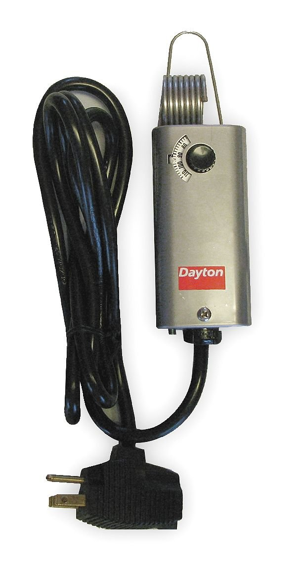 Dayton 2NNT5 Line Voltage T-Stat, -35 to 95 F, SPST