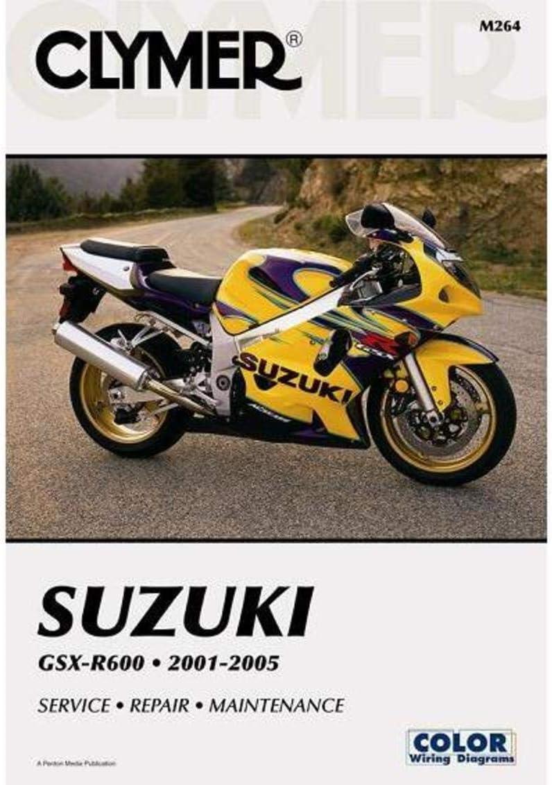 2005 suzuki gsxr 600 wiring diagram amazon com clymer repair manual for suzuki gsx r600 gsxr 600 01  suzuki gsx r600 gsxr 600