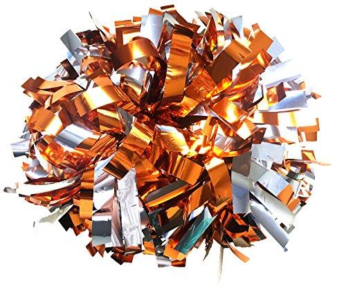 Metallic Cheerleading Pom Poms - 1