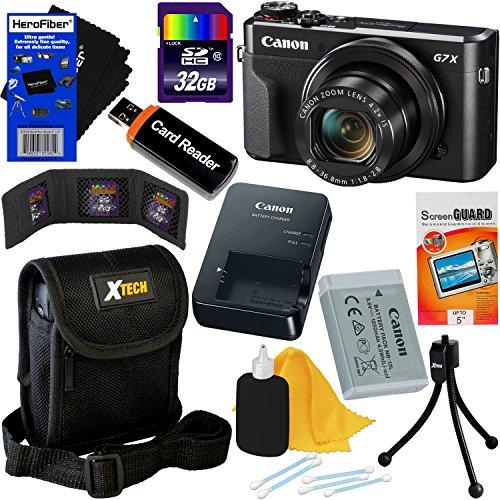 Canon PowerShot G7 X Mark II Digital Camera w/1 Inch Sensor