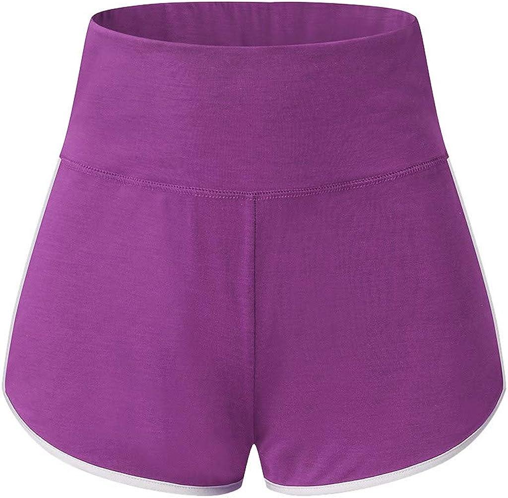 ANOKA Short Running Shorts Women Yoga Athletic Gym Workout Shorts