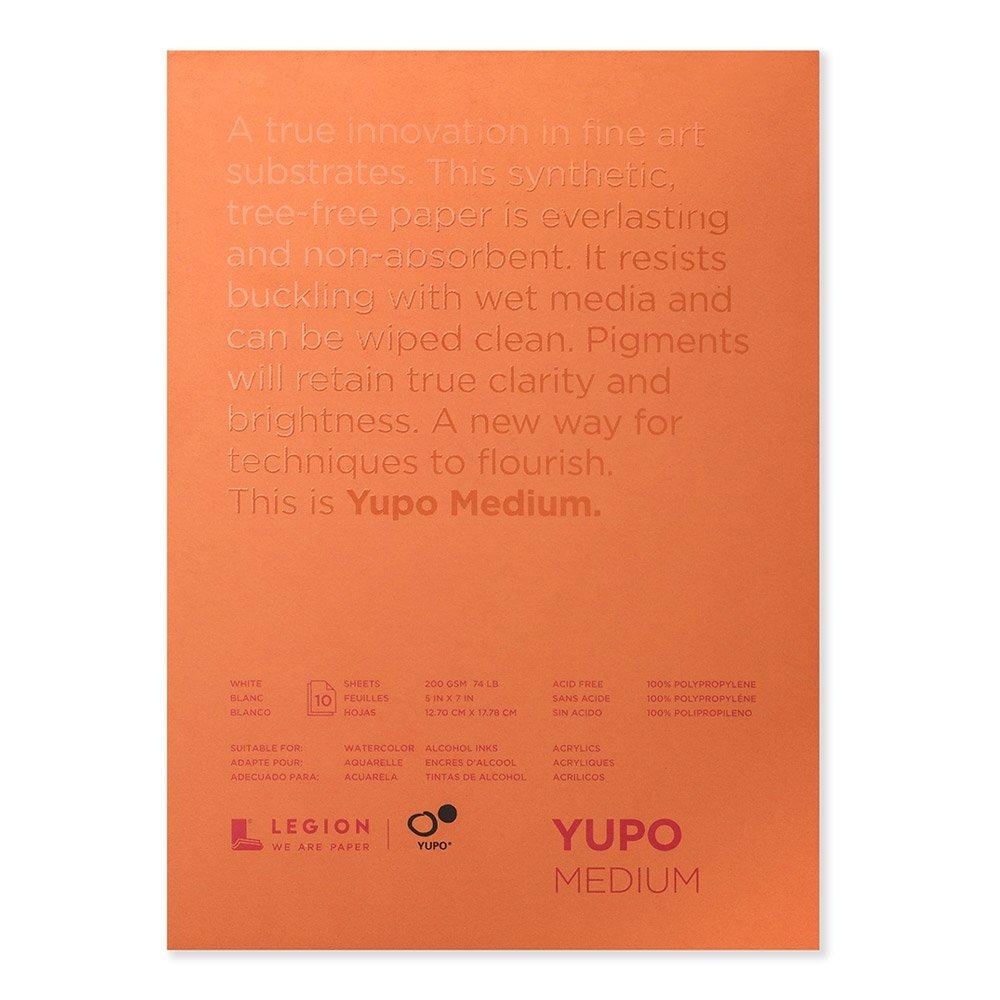 Yupo Paper 12, 7cm x 17, 8cm 10fogli/bianco 33, 6kg Notions Marketing 502798
