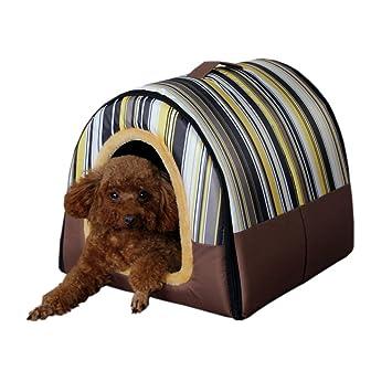 mixse acogedor 2 en 1 Cámara y sofá antideslizante de mascota Perro Gato Igloo camas 3-Size: Amazon.es: Productos para mascotas