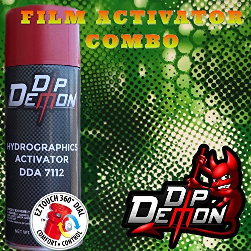 Combo Kit Green Snake Animal Reptile Skin Hydrographic Water Transfer Film Activator Combo Kit Hydro Dipping Dip Demon