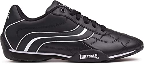 Lonsdale Mens Camden Trainers Low Lace