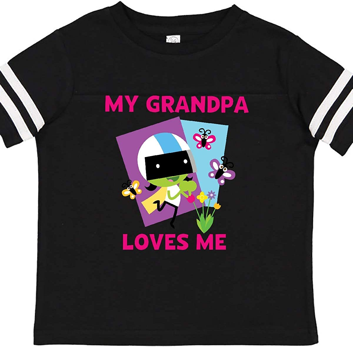 PBS Kids inktastic My Grandpa Loves Me with Dee Toddler T-Shirt
