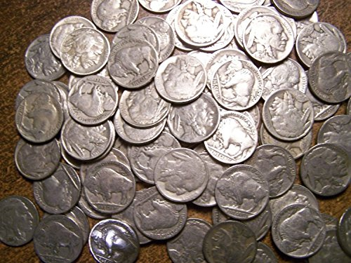 - 20 Indian Head Buffalo Nickels 1920s-1930s Full & Partial Dates