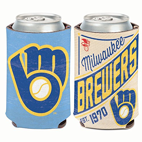 WinCraft Milwaukee Brewers Cooperstown Can Cooler