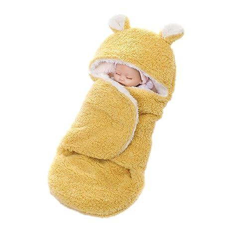 YeahiBaby Mantitas de Arrullo para Bebé Recién Nacido para Cochecito de Bebé Manta Suave y Cálida
