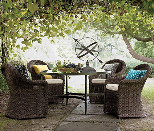 """TINA'S HOME 16"""" Grey Outdoor Pillows/Waterproof Geometric Throw Pillow for Patio Bench Swing Couch Decor(Set of 2) - ♥Product Includes: two (2) outdoor pillows, resists weather and fading in sunlight; Suitable for indoor and outdoor use ♥Plush Fill: 100-percent down alternative filling, offers extra back support and holds in shape ♥Easy Care - lightly spot clean or hand wash outdoor pillow fabric with mild detergent and cool water; then let air dry - patio, outdoor-throw-pillows, outdoor-decor - 61Pmw mEJyL -"""