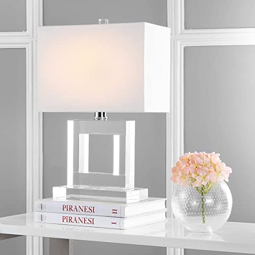 Safavieh Lighting Collection Town Square Crystal 20.5-inch Table Lamp