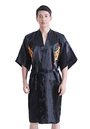 peignoir homme kimono. Black Bedroom Furniture Sets. Home Design Ideas