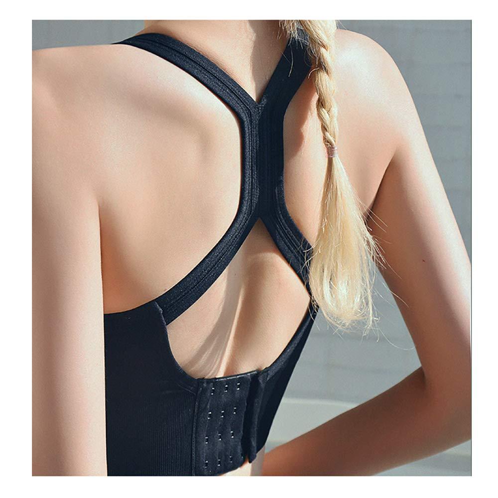 BINGFENG Yoga Vest Bra Sports Bra Female Fitness Bra