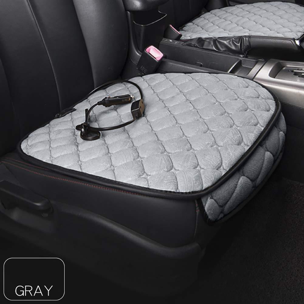Auto Beheizbare Sitzauflage Universal Beheizbar Sitzkissen Grau 12V Zigarettenanz/ünder Queta Sitzheizung Einstellbar Heizstufe
