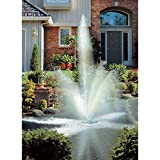 Scott Aerator Clover BIG SHOT Floating Fountain - 1/2 HP, 110 Volt, 70-Ft. Power Cord