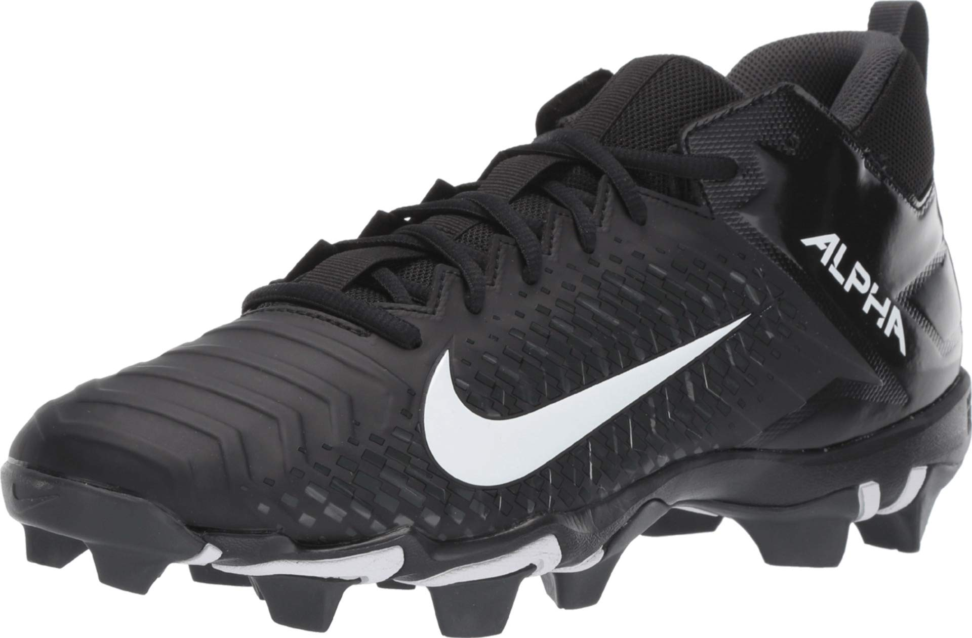 Nike Men's Alpha Menace 2 Shark Football Cleat Black/White/Anthracite Size 10.5 M US by Nike