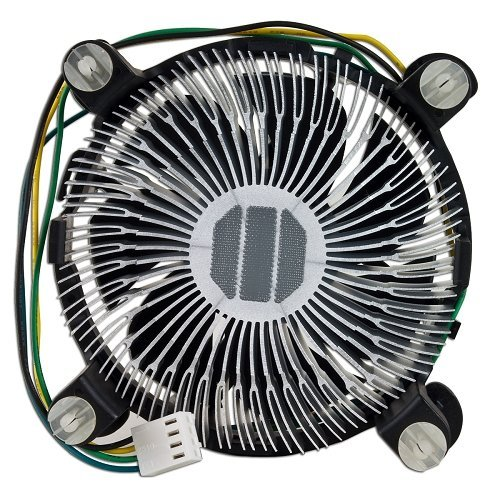 Intel E97379-003 Core i3/i5/i7 Socket 1150/1155/1156 4-Pin Connector CPU Cooler With Aluminum Heatsink and 3.5-Inch Fan For Desktop PC Computer
