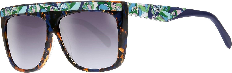 Sunglasses Emilio Pucci EP 0090 52P dark havana//gradient green