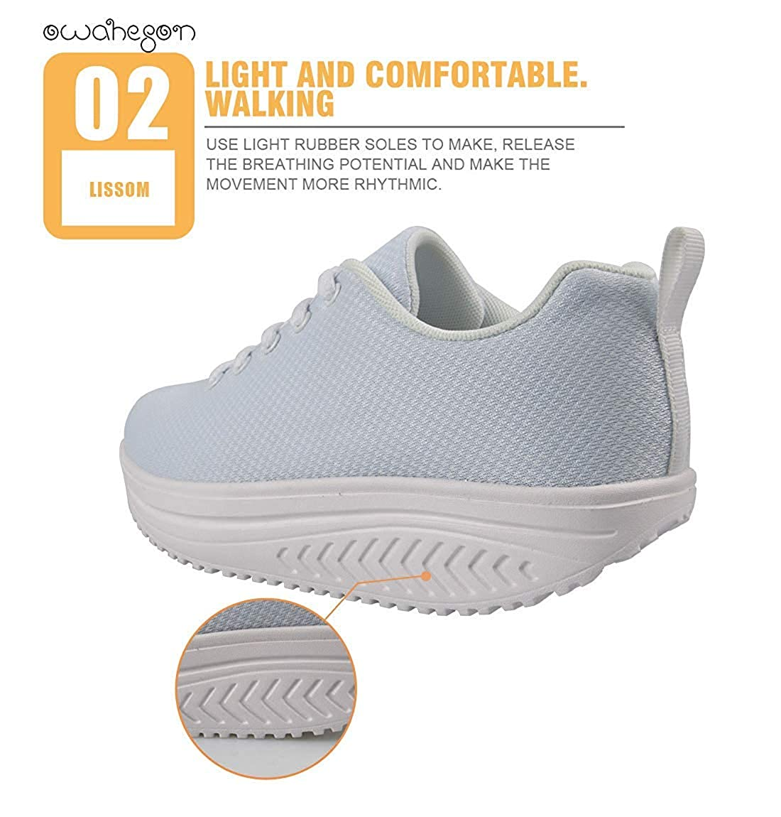 Swing Platform Toning Fitness Casual Walking Shoes Wedge Sneaker Women Autism Awareness Puzzle Butterfly