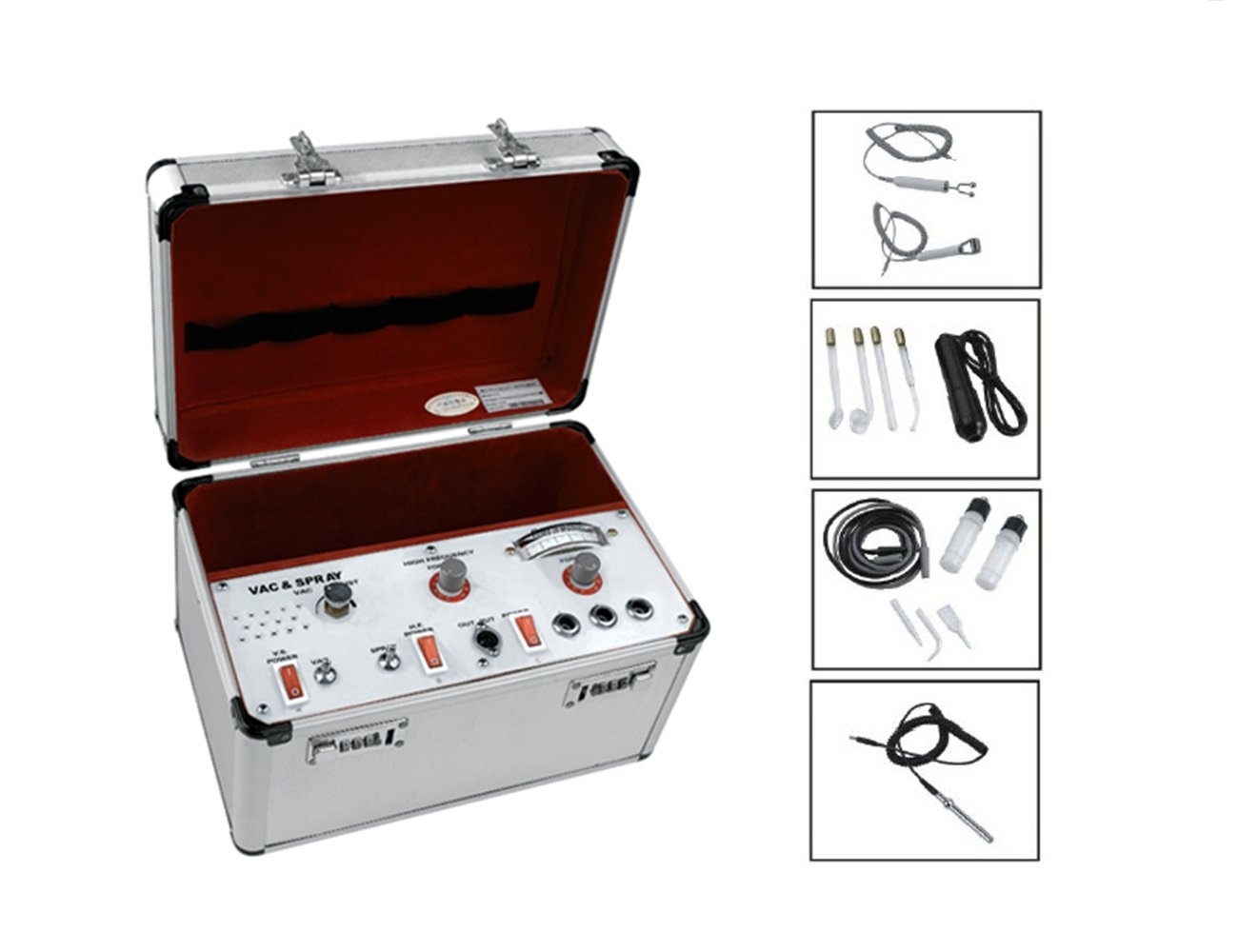 Elitzia ETD215A Suction Spray High Frequency Galvanic 3 in 1 Multiple Beauty Instrument Facial Cleaning Machine