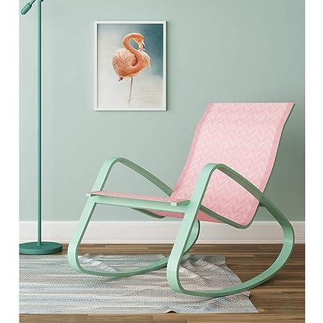 Silla de jardín minimalista, sillas al aire libre, mecedoras ...