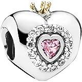 Pandora Heart Charm Pink Princesses