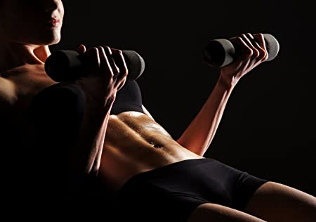 Xxl Poster Sepia Photo Wallpaper Self Adhesive Bodybuilding
