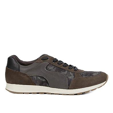 d9c716c3e Tênis Shoestock Jogging Camuflado Masculino - Verde Militar - 40 ...