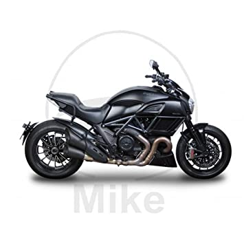 Shad D0DV14IF Soporte Maletas 3P System para Ducati Diavel 1200 Negro: Amazon.es: Coche y moto