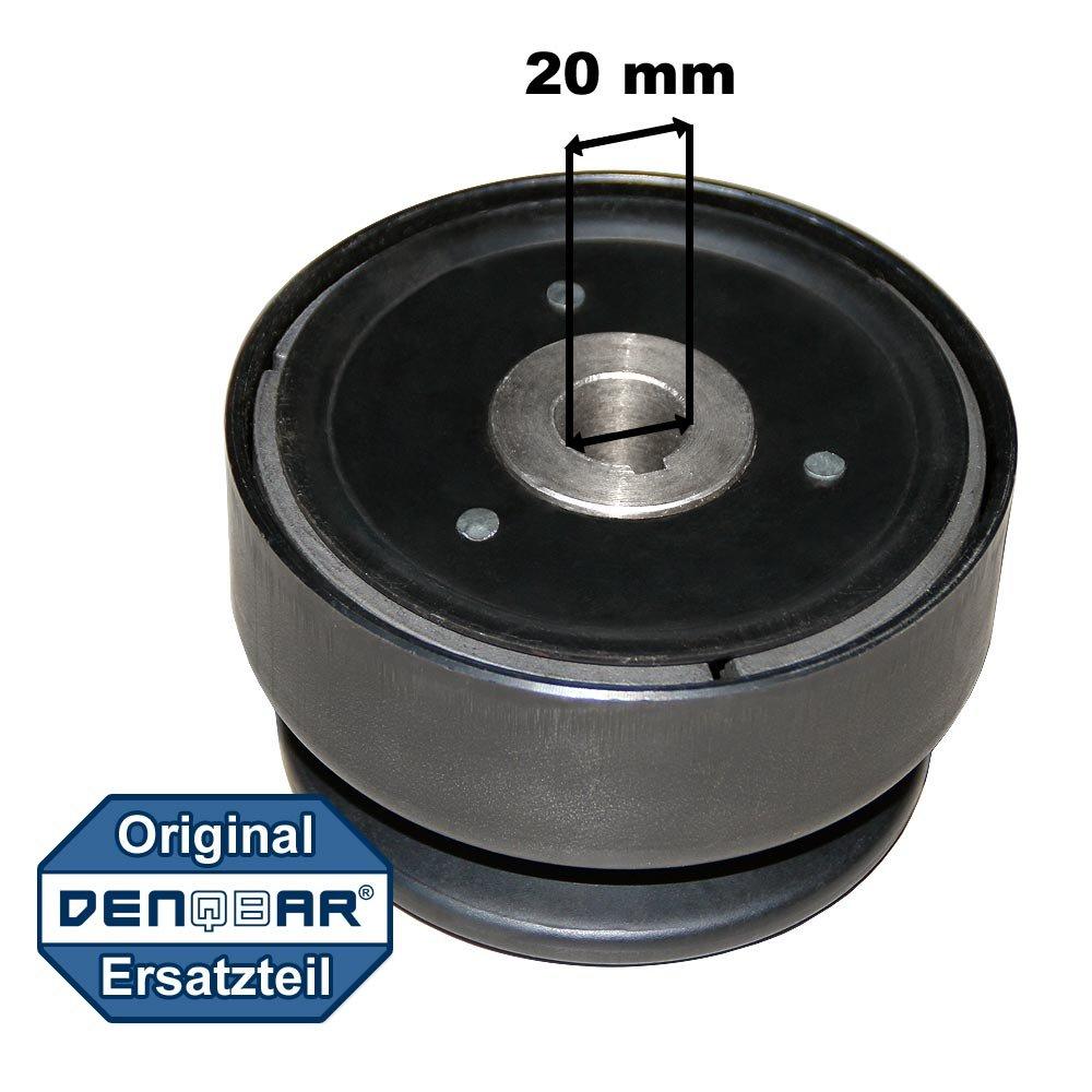 Vollautomatische Fliehkraftkupplung mit 20 mm Wellendurchmesser