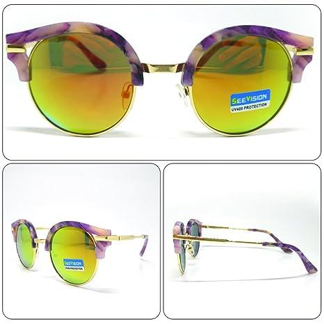 see vision Gafas de Sol Sunglasses Hombre Mujer Unisex Alta ...
