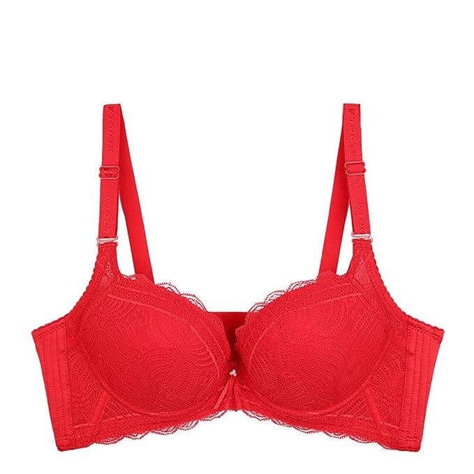 Bolsa de agua que forma ropa interior mujeres/ ropa interior de encaje gruesa/profundovPoner